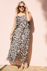 Sara Animal Print Dress