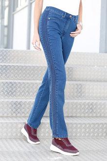 Euro Edit Pintuck Jeans - 236428