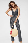 Urban Stripe Jumpsuit