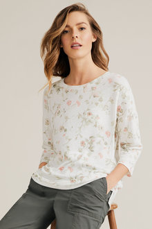 Capture Printed Knit Top - 236435