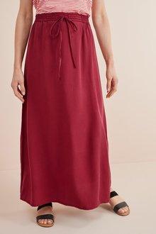 Next Tencel Maxi Skirt- Tall