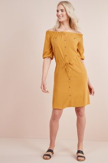 Next Utility Bardot Dress- Tall