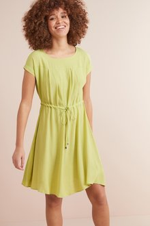 Next Drawstring T-Shirt Dress- Tall