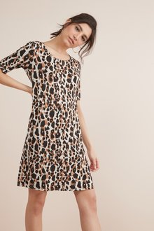 Next Jersey T-Shirt Dress- Tall