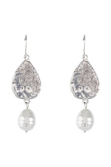 Amber Rose Indi Pearl Drop Earings