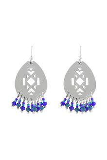 Amber Rose Multi Bead Earrings - 236541