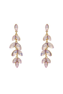 Amber Rose Petal Cast Statement Earring