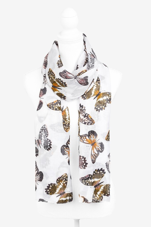 Next Butterfly Sparkle Lightweight Scarf