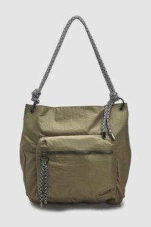 Next Nylon Hobo Bag