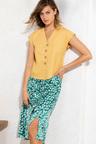 Emerge Printed Midi Skirt