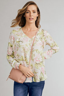 Capture Ruffle Detail Shirt