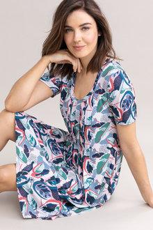 Capture Pintuck Dress - 236629