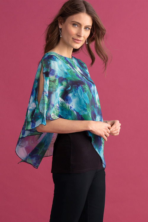 Capture Printed Overlay Top