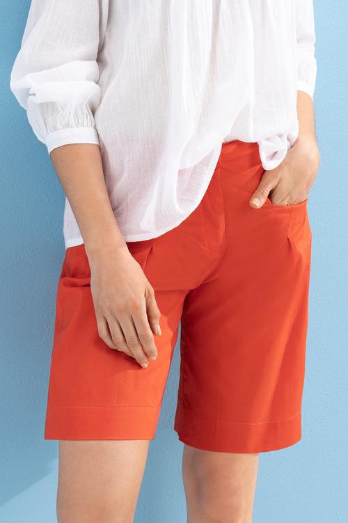Capture Cotton Shorts