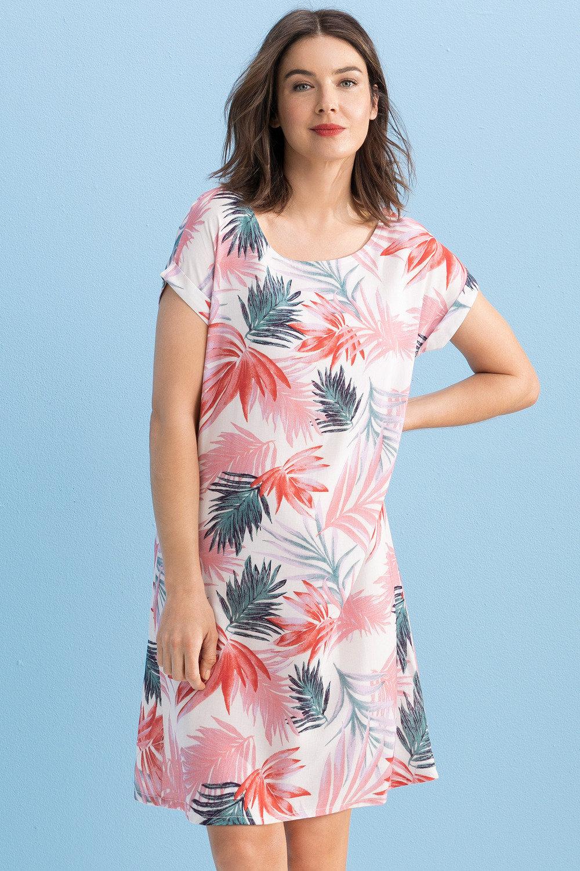Capture Spun Drop Shoulder Shift dress Online | Shop EziBuy