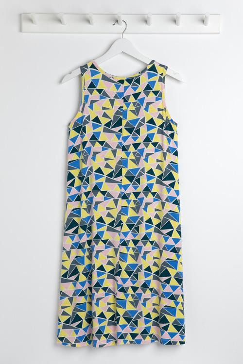 Capture Sleeveless Shift Dress
