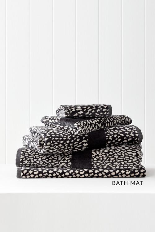 Animal Velour Bath Mat