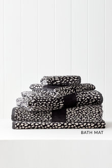 Animal Velour Bath Mat