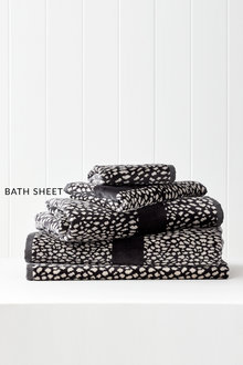 Animal Velour Bath Sheet
