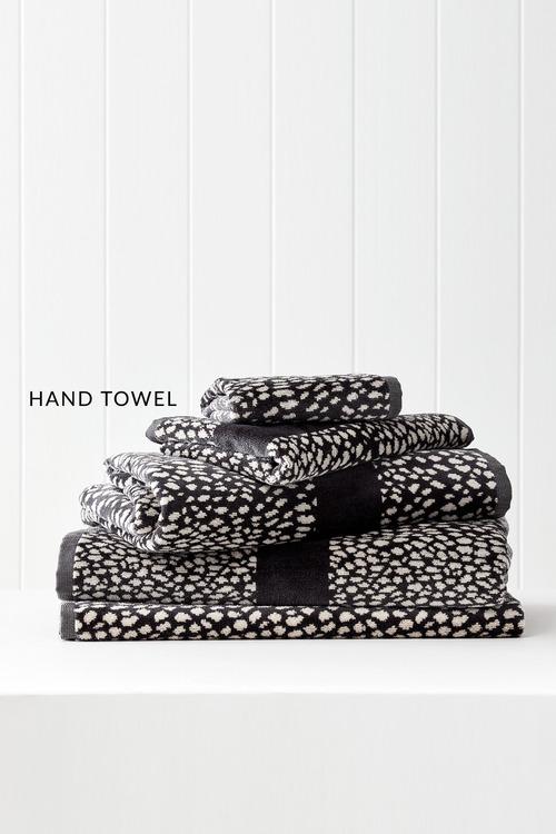 Animal Velour Hand Towel