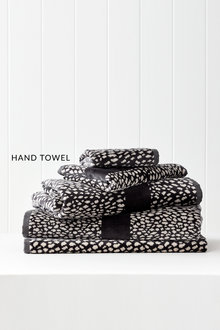 Animal Velour Hand Towel