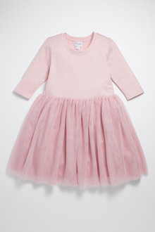 Pumpkin Patch Tutu Dress Long Sleeve