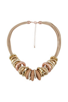 Amber Rose Jump the Hoop Necklace