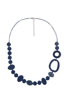 Amber Rose Tica Wood Necklace - 236705