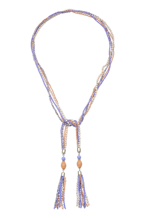 Amber Rose Hippie Necklace