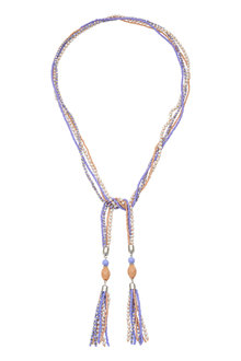 Amber Rose Hippie Necklace - 236707