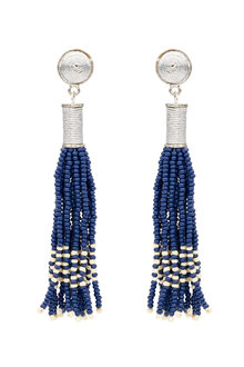 Amber Rose Zulu Bead Earring