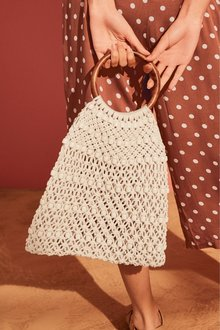 Next Crochet Beaded Bag