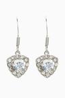 Next Platinum Plated Earrings