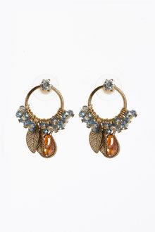 Next Beaded Mini Drop Earrings