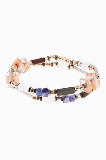 Next Beaded Expander Bracelet