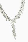 Next Crystal Effect Y Short Necklace