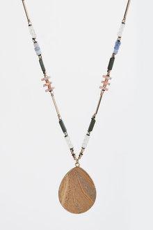 Next Beaded Pendant Necklace