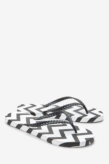 Next Printed Flip Flops - 236791