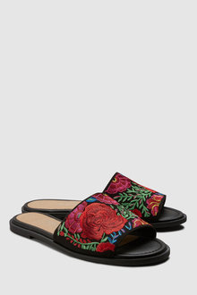 Next Formal Embroidered Mules