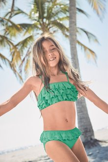 Next Broderie Frill Bikini (3-16yrs)