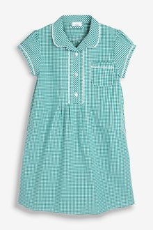 Next Plus Fit Gingham Dress (3-14yrs)