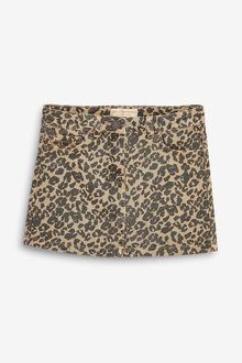 Next Animal Denim Skirt (3-16yrs)