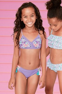Next Embroidered Bikini (3-16yrs)