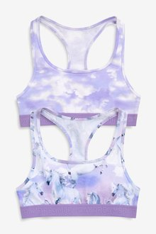 Next Galaxy Crop Tops Two Pack (Older)