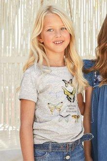 Next Butterfly Sequin T-Shirt (3-16yrs)