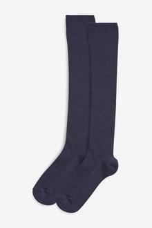 Next Over Knee Socks Two Pack (Older)