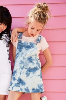 Next Tie Dye Pinafore (3-16yrs)