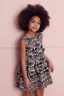Next Animal Print Dress (3-16yrs)