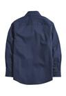 Next Long Sleeve Smart Texture Shirt (3-16yrs)