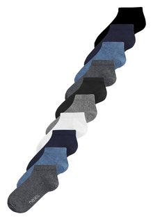 Next Cotton Rich Trainer Socks Ten Pack (Older) - 236960